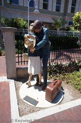 Contact statues by J. Seward Johnson at grounds of Key West Custom House Museum.jpg