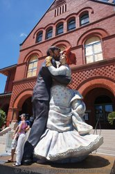 Dancing Couple Sculpture outside of the Key West Museum of Art & History at the Custom House.jpg