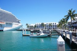 View of Carnival Breeze Bow and Westin Hotel in Key West.jpg