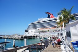 Stern of Carnival Breeze while docked in Key West.jpg