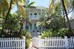 712 Eaton St Key West Home with White Picket Fences & Cyan shutters.jpg