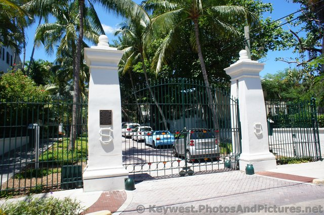 Gated area to Harry Truman's Little White House in Key West.jpg